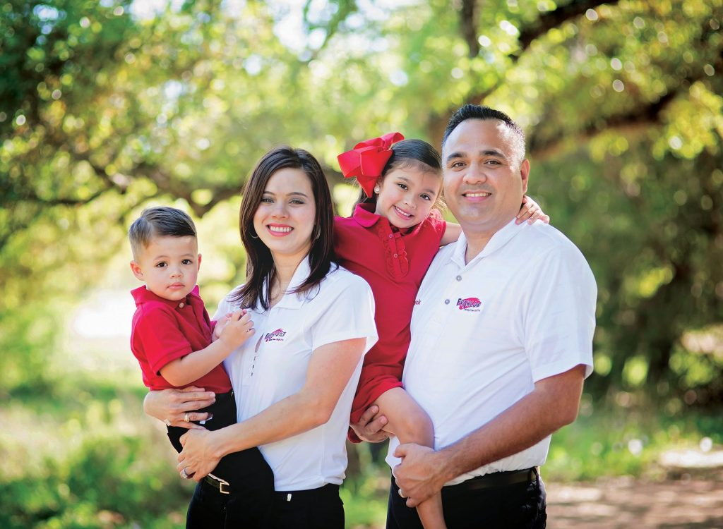 Fresh Coat Owner and Family