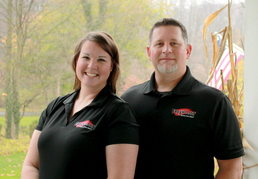 Troy and Niki Page, Fresh Coat Franchise Owners
