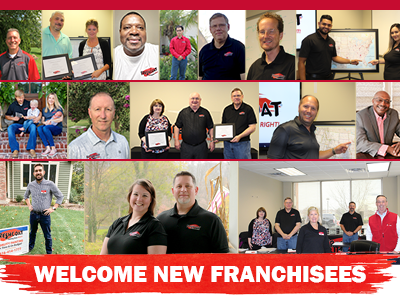 2020 new Fresh Coat Franchisees
