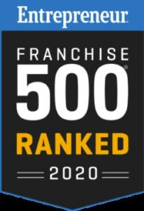 2020 Entrepreneur Franchise 500 Ranking