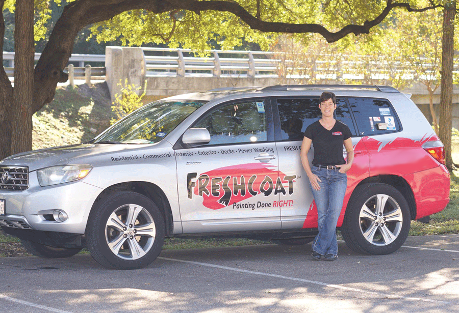 sarah ross and her truck