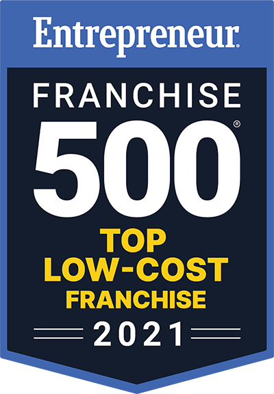 top low cost franchise badge