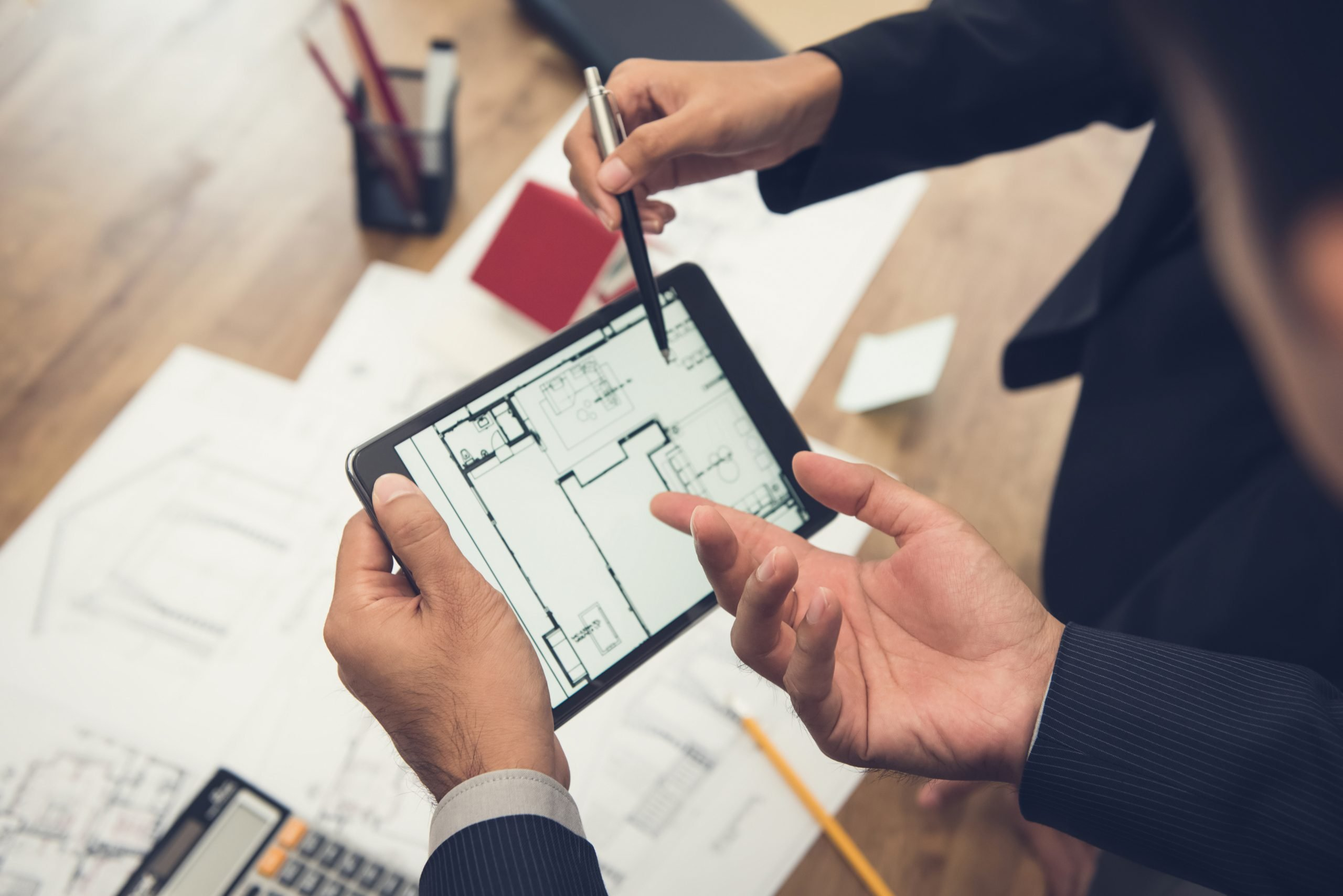 Project planning with blueprints