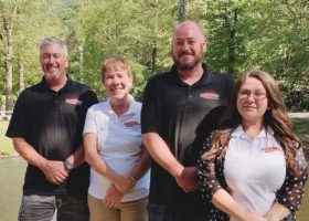 Kelly Family owners of Fresh Coat of Kernersville